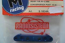 RADIOSISTEMI SVM RACING KONVERGENZ POST +2 ALL REAR TOE IN +2 MM ART S1834A