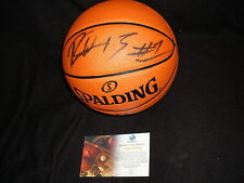 LA Lakers Ron Artest Metta World Peace signed basketball GAI authenticated