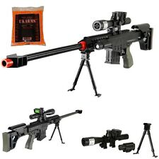 Airsoft Sniper Rifle Barrett M82A1 Gun M107 Tactical Pistol Grip *1000 FREE BBS