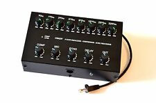 8 Band Sound Equalizer Echo Compressor to ICOM Radio RJ-45 mic transceiver IC-