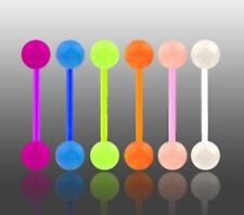 New Lot 6 x Flexi Glow In Dark Tongue Bars
