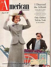 1956 American April - Barbara Bel Geddes; Hitchcock memorial church; Linkletter