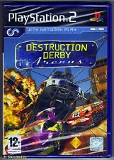 PS2 Destruction Derby Arenas, ( 2004 ) UK Pal, Brand New & Sony Factory Sealed