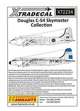 Xtra Decals 1/72 DOUGLAS C-54 SKYMASTER American & Foreign Versions