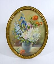 Cuadro de flores para 1900 Acuarela