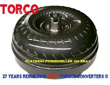 Dodge 47RE 48RE TRIPLE CLUTCH - Extra Low Stall - BILLET HD torque converter