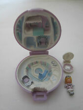 Vintage Bluebird Polly Pocket Rare Princess Ice Palace Playcase 99% Complete #B1