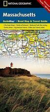 National Geographic GuideMap MA Massachusetts Road Map & Travel Guide GM01020315