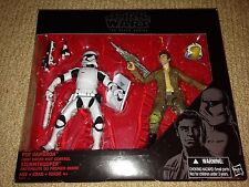 Star Wars The Black Series POE DAMERON & FIRST ORDER RIOT CONTROL STORMTROOPER