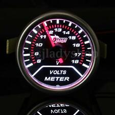 UNIVERSAL 2'' 52MM CAR LED LIGHT DIGITAL VOLT VOLTAGE VOLTMETER GAUGE METER 12V
