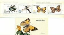 INSETTI & FARFALLE - INSECTS AZORES 1985 booklet