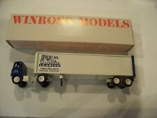 QUALITY LEASING TRACTOR TRAILER WINROSS TRUCK DIECAST
