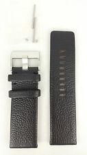 Diesel DZ9005 Watch Strap Black Genuine Leather Original NEW BAND DZ 9005 28mm