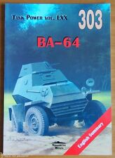 BA-64 - Soviet light armoured car  - Militaria Publishing - English Summary