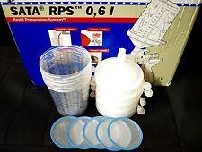 Sata Jet HVLP RP Spray Paint Gun RPS Cups 0,6 liter 20oz 5 cups