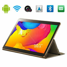 "HQ Android 4.4 10.1"" Kitkat 3G SmartPhone Tablet Quad Core GPS WiFi 2G 16G 2 SIM"