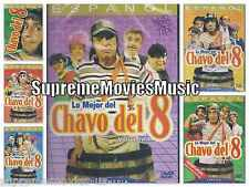 NEW - 6 Pack EL Chavo Del 8 Ocho DVD NEW Vol 1 2 3 4 5 y 6 Coleccion BRAND NEW