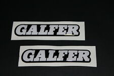 Galfer 3D Bremsen Brake Aufkleber Sticker Decal Bapperl Kleber Race Ö22