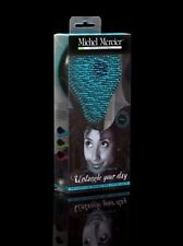 Michel Mercier Professional Quality Detangling Blue Hair Brush for Thick Hair