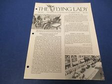 The Flying Lady Rolls-Royce, Magazine May 1979, No. 79-3, 1905 2-cylinder 10 HP