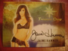 2015 Benchwarmer Treasure Chest Jaime Hammer BASE AUTO GOLD PLAYMATE