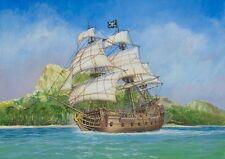 Zvezda Pirate Ship Black Swan 1/350 scale plastic model kit 6514