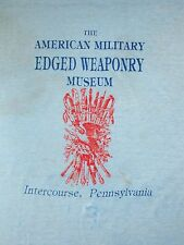 Vintage American Military Edged Weaponry Intercourse Paper Thin Soft T Shirt M