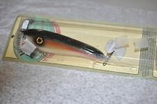 HUGHES RIVER SHAKER Custom Musky Pike Fishing Lure Bait. NEW. RARE! DOUBLE SIDED