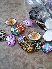 Glass Cabochons Oval 18x13 Assorted Cabochons Oval Cabochons Wholesale