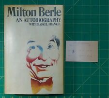 """Autographed """"An Autobiography by Milton Berle"""" Signed 1st EDITION  HB DC VG+"""