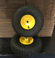 "2 NEW TIRES,TUBES & WHEEL 4.10/3.50-4&2 GO KART/GO CART, & SnowBlower, 5/8"" Bore"