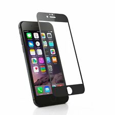 "Black Apple Iphone 6 4.7"" Tempered Glass Coloured tempered glass screen 0.3ml 9h"