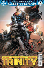 TRINITY #1, JASON FABOK VARIANT, New, First print, DC Comics (2016)