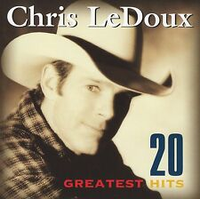 CHRIS LEDOUX - 20 GREATEST HITS CD ~ COUNTRY BEST OF ~ GARTH BROOKS *NEW*