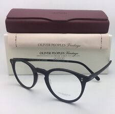 OLIVER PEOPLES VINTAGE Eyeglasses O'MALLEY OV 5183 1465 45-22 Matte Black Frame