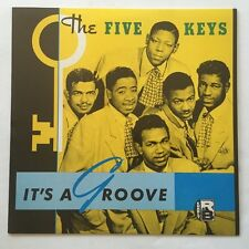The Five Keys It's a Groove LP NM/NM on Charly Doo Wop Oldies