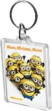 More Minions More Acrylic Keyring Key Ring Range Despicable Me Movie Yellow