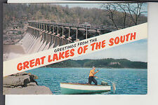 Chrome 2 View Dam & Fishing Greetings from Great Lakes of the South TN Tenn