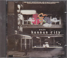 THE VELVET UNDERGROUND - live at max's kansas city CD