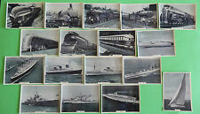 Cigarette Card Ardath Tobacco Co Ltd Speed Land Sea & Air 1938 95 x 68mm Exc 46