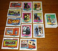 Complete set Classic Toys Trading Cards, Major Matt Mason, Lost in Space, Batman