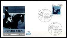 Dressurreiten. Olympiasieger (1964,1968) Josef Neckermann. FDC. BRD 1996