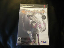 PS2 Digital Devil Saga 2 Shin Megami Tensei SEALED NEW RARE!!!!