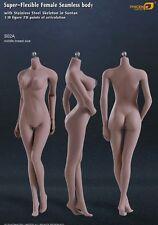 *New* Phicen 1/6 Female Seamless Body Stainless Steel Skeleton Suntan Mid Bust
