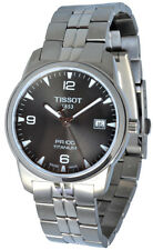 Tissot T0494104406700 T-Classic PR 100 Men Anthracite Titanium Watch New in Box