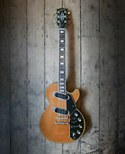 1972 / 73 GIBSON RECORDING LES PAUL NATURAL FINISH WITH HARDSHELL CASE