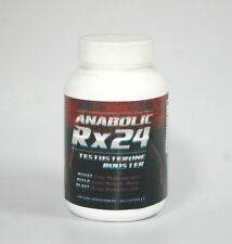 New - Anabolic Rx24 - Dietary Supplement - 60 Capsules - Free Shipping