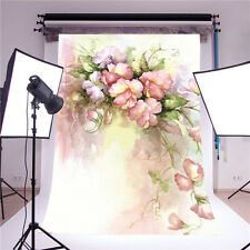 scenic background photo studio props vinyl 5x7ft flower photography backdrops