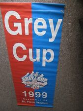 1999 Stadium 7' Grey Cup Banner  VERY RARE