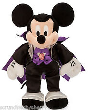 Disney Store Mickey Mouse Count Dracula Halloween Plush New 2015